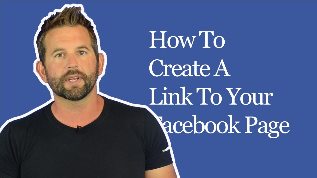 Photo Page: How To Create A Link To Your Facebook Page From Your
