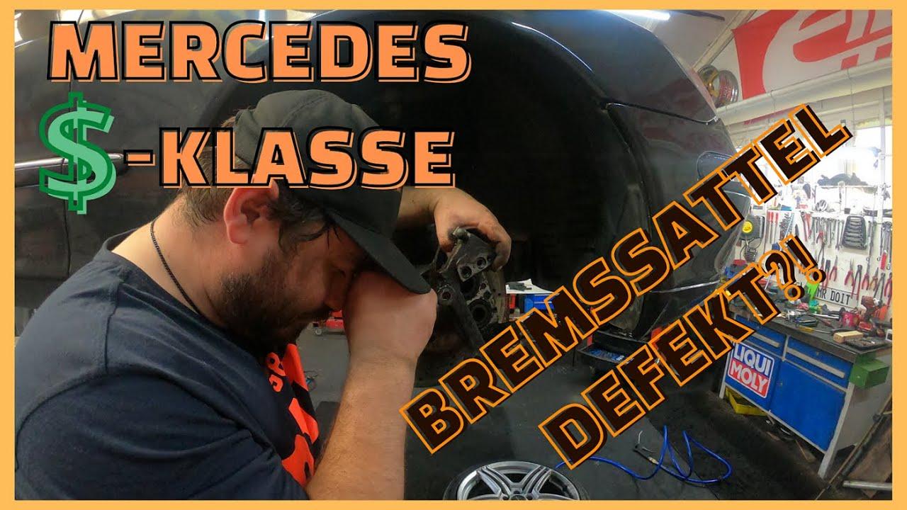 Mercedes - GEFAHR - Bremssattel undicht | neuer Dichtungssatz 🥵🥵🥵 Unsere arme S-Klasse