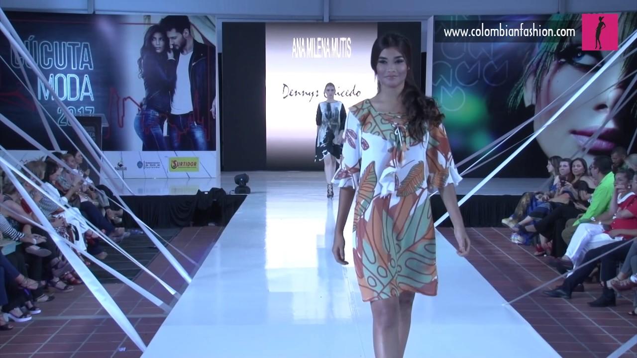 Pasarela Ana Milena Mutis - Cúcuta Fashion Week 2017