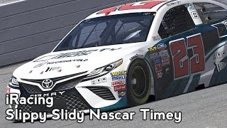 iRacing : Slippy Slidy NASCAR Timey [VR] (2018 NiS Atlanta I)