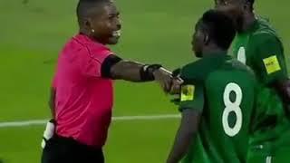 ALGERIA VS NIGERIA FAKE PENALTY