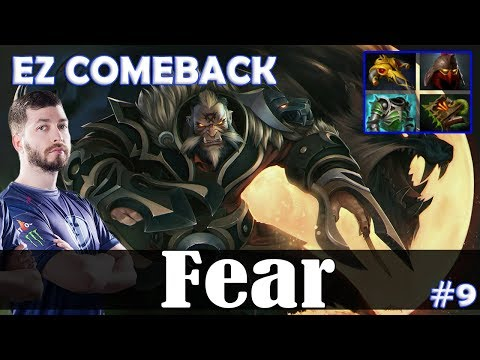 Fear - Lycan MID | EZ COMEBACK | Dota 2 Pro MMR Gameplay #9