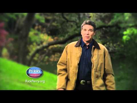 "Rick Perry for President 2012 Ad - ""Strong"""