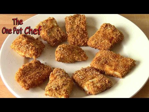 Oven Baked Fish Nuggets | One Pot Chef