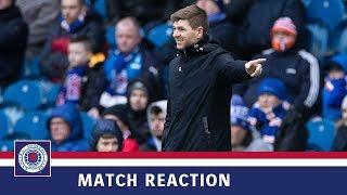 REACTION | Steven Gerrard | Rangers 1-0 Livingston