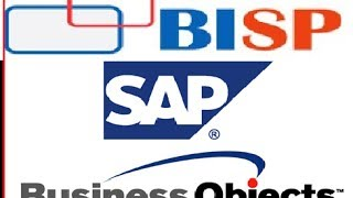 SAP Business Objects SESSION # 1