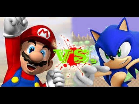 epicas batallas del rap del frikismo mario vs sonic
