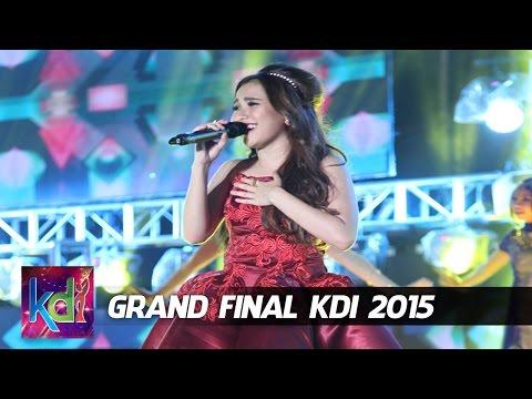 """Ayu Ting Ting """" Dil Laga Iya """" Grand Final KDI 2015 (4/6)"""