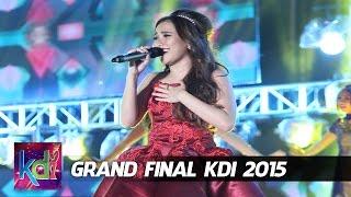 Ayu Ting Ting Dil Laga Iya Grand Final KDI 2015 (4/6)