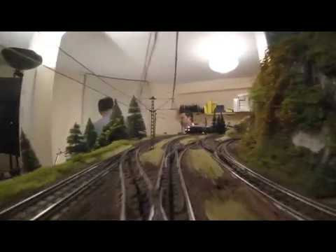 Cab ride @George's faraonic layout 12 March 2017