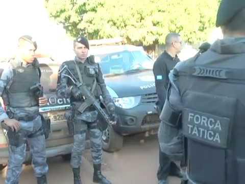 Confresa: Nove pessoas são presas por tráfico de drogas e vendas de anabolizantes