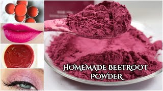 Homemade Beetroot Powder/#Diy