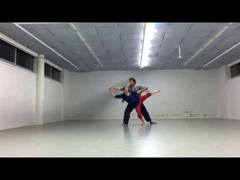 contact meets contemporary partnering work