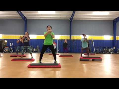 "LYLA Fitness –  Zumba Step w/ Alicia Cherise ""Party Turn Up"""