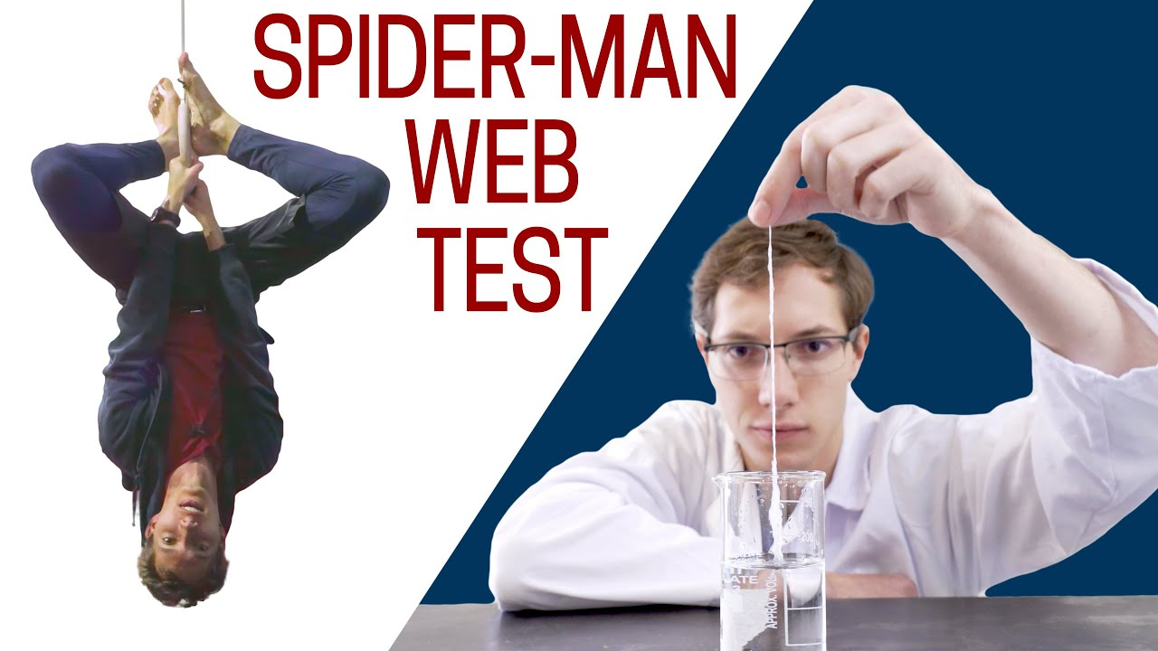 Making Spider-Man's Web in real life