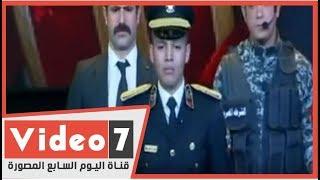 اللى خلف ممتش..نجل الشهيد البطل وائل طاحون: هنفضل نحمى بلدنا ودايما تحيا مصر