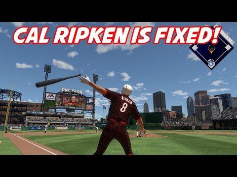 CAL RIPKEN JR IS FIXED! MULTIPLE HOME RUNS!  - MLB The Show 17 Diamond Dynasty Gameplay