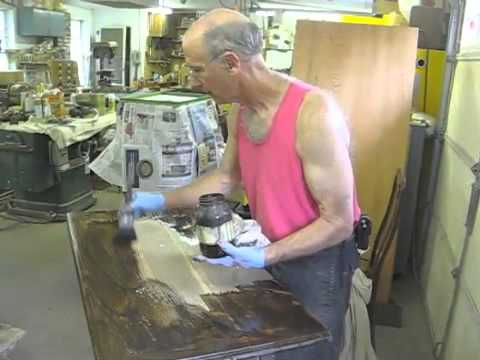 Restoring A Jacobean Revival Cupboard Thomas Johnson Antique Furniture Restoration Youtube