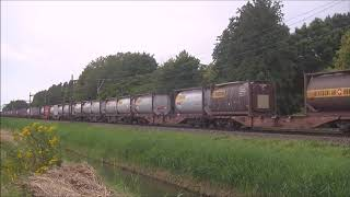 Treinen in Krabbendijke, Dordrecht Zuid en Apeldoorn 20 juli 2019
