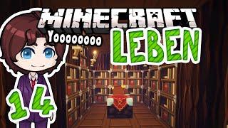 Minecraft LEBEN #14 | Umbau in der Bibliothek! | Zombey