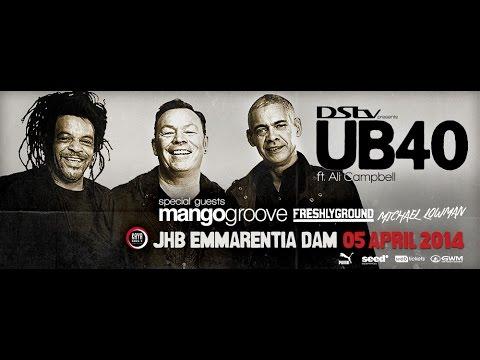 UB40 - Kingston Town LIVE IN JOHANNESBURG 2014