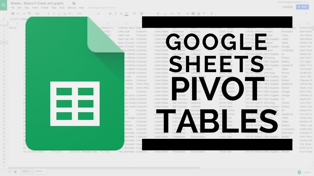 Combine multiple sheets into one pivot table