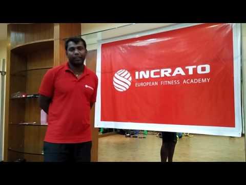 Incrato Fitness Center sunil harry