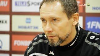 После матча: Владимир Маминов