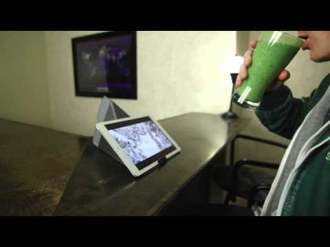 iPad Origami Sleeve & Stand from GOcase
