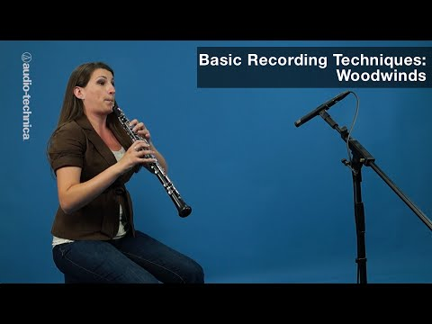 Basic Recording Techniques: Woodwinds