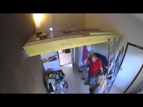 mezzanine home made gopro timelapse DIY
