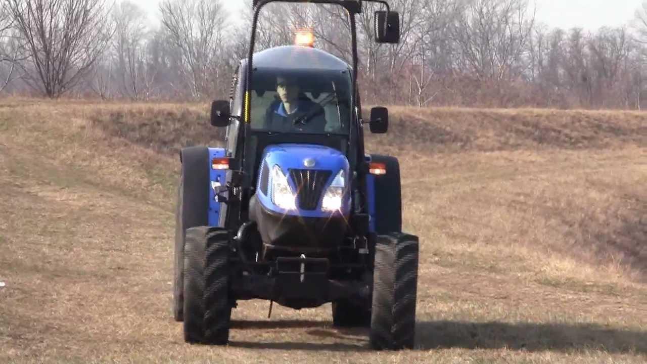 Low Profile Tractor : New holland t f cabina ribassata low profile cabin