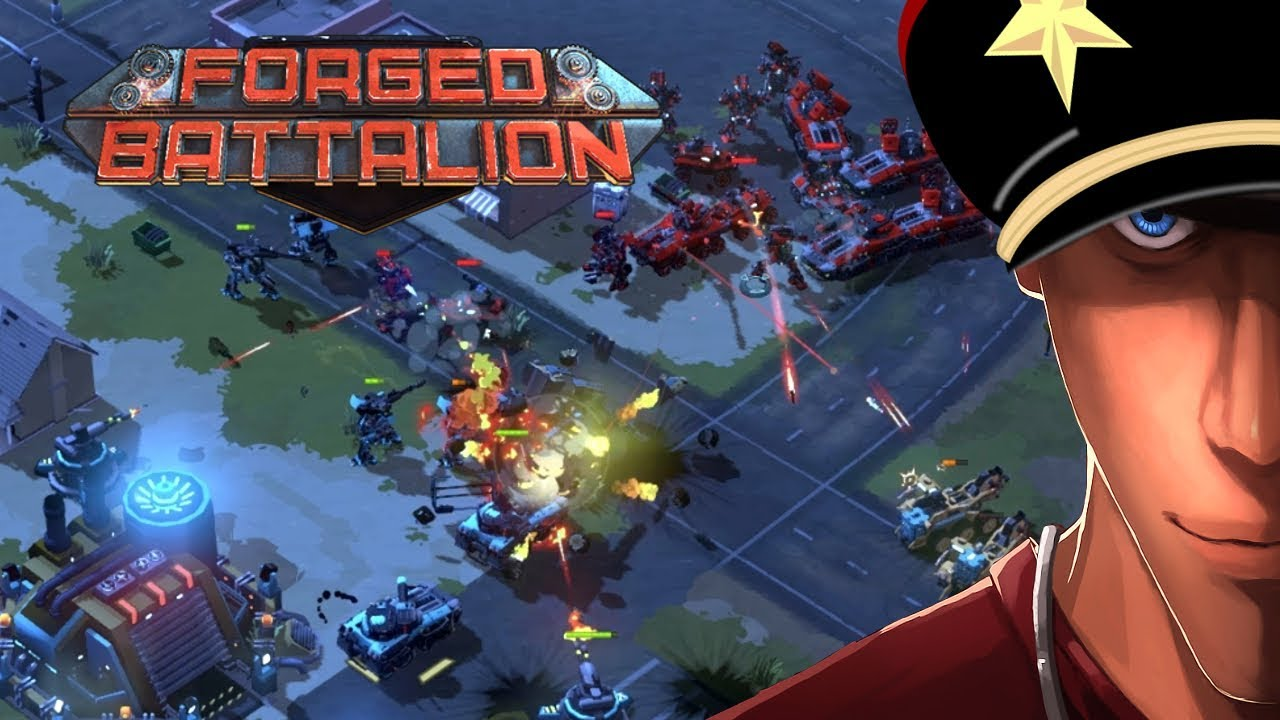 Download Forged Battalion Mission 1 Hard GO AROUND!!! - Frist look at Forged Battalion