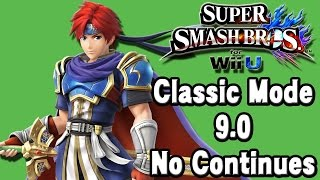 Super Smash Bros. For Wii U (Classic Mode 9.0 No Continues | Roy) 60fps