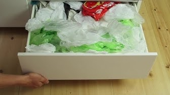 Es häufen sich die Plastiktüten. Doch mit diesem genialen Trick wirst du endlich Herr der Lage.