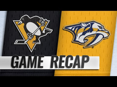 Sports Wrap with Ron Potesta - Crosby Lifts Penguins Over Predators In Shootout