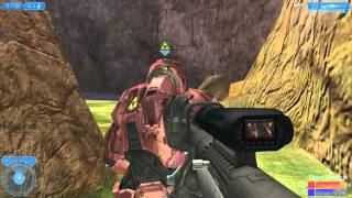 Halo 2 PC Vista Multiplayer Sniper Gameplay Team Slayer on Beaver Creek HD[1080p]