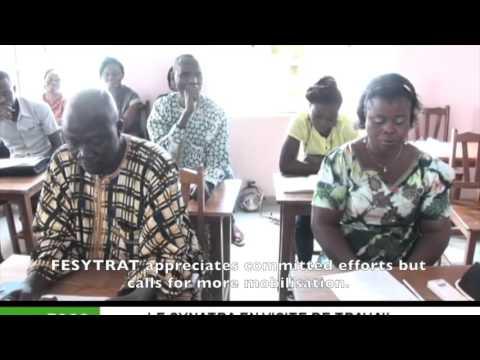News clip - SYNATRA visit to FESYTRAT in Togo // SYNATRA rend visite a la FESTRAT au Togo