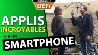 Les applis les plus incroyables sur smartphone