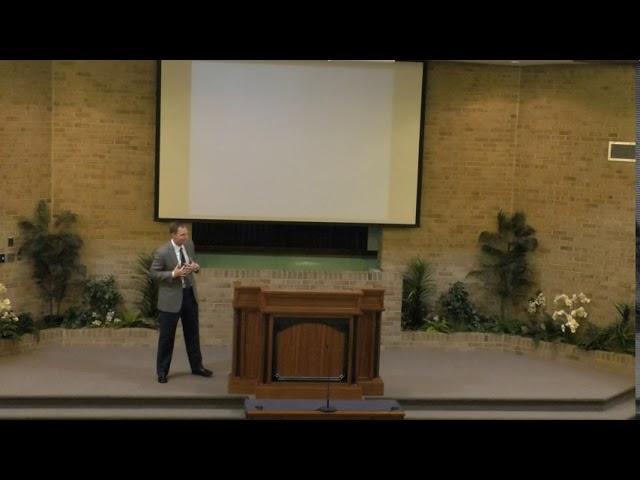 Jesus Our Priest - 7-26-2020 - church of Christ sermon