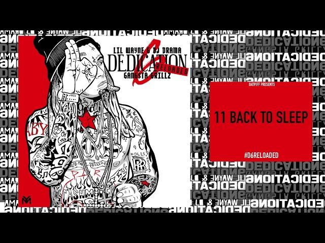 Lil Wayne Back To Sleep Lyrics