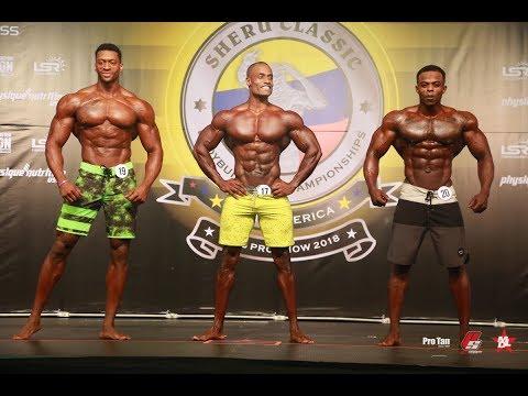 (Parte 1) 2018 Mens Physique IFBB Pro Sheru Classic Colombia 2018