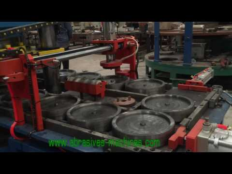 Cutting wheel making machine