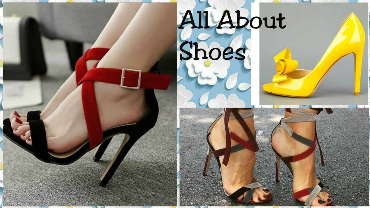 18 Types Of Shoes For Women Name Of Sandals Of Womens Youtube