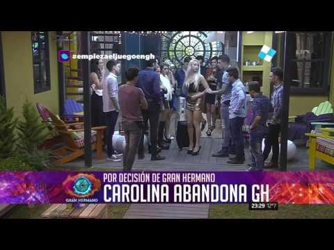 Lucas, Mariano y Carolina, abandonaron la Casa