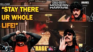 DrDisrespect RAGES VS A BUNCH of CAMPERS in COD Modern Warfare Free For All!