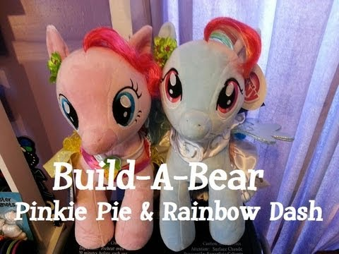 Build A Bear: Pinkie Pie And Rainbow Dash Review