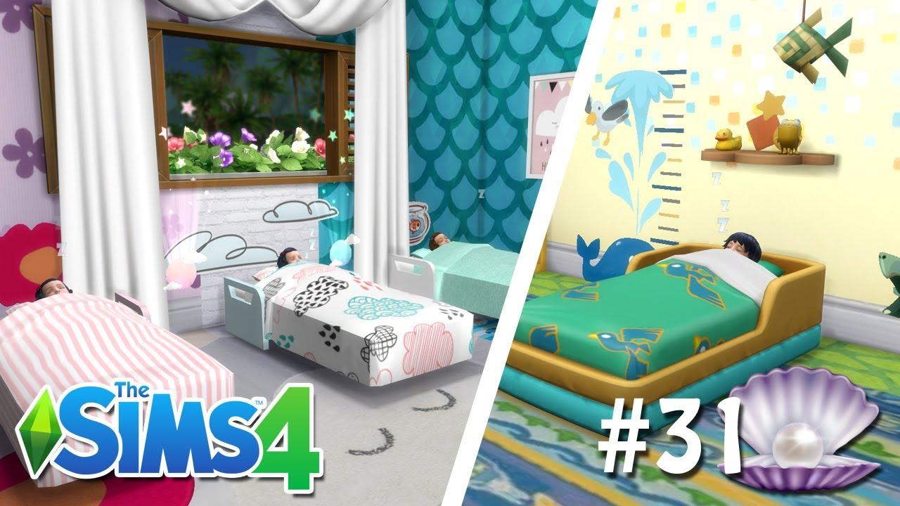 O NOVO QUARTO DOS QUADRIGÊMEOS #31 - O Futuro de Pérola - The Sims 4
