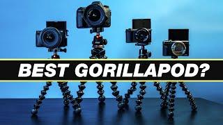 Best Vlogging Tripod? Joby GorillaPod 1K, 3K, & 5K Review