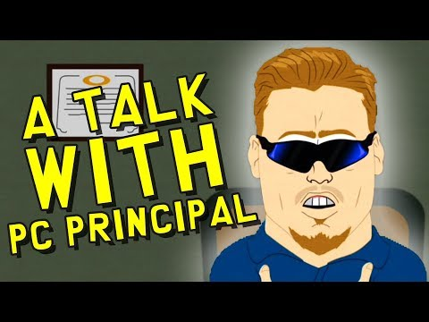 A Talk with PC PRINCIPAL!! (South Park The Fractured But Whole with JV!)